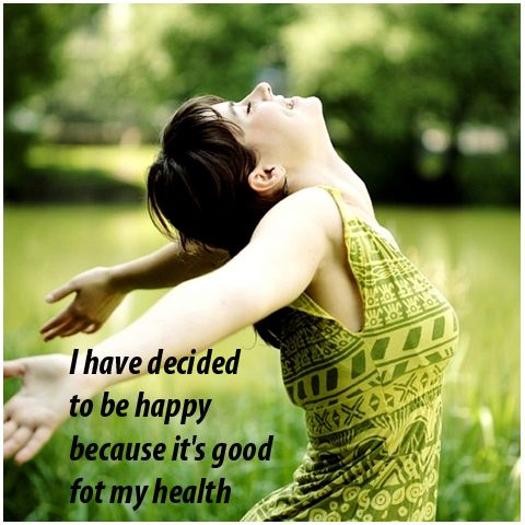 Happiness and other positive emotions play an important role in human health. Anxiety, depression, a lack of enjoyment of daily activities and pessimism all are associated with unhealthy physical conditions. Positive moods reduce stress-related hormones, increase immune function and promote overall well being.