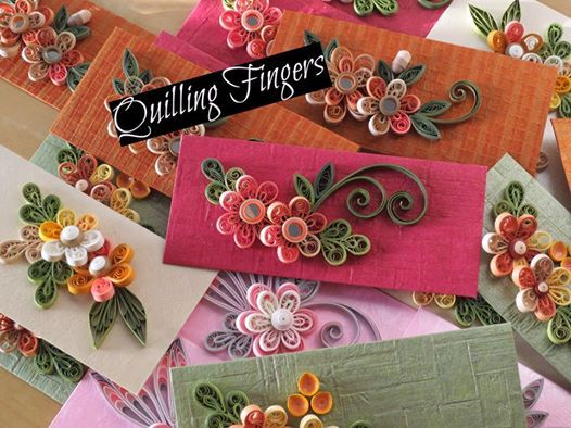 Quilling Fingers..............