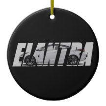 2014 Elantra Coupe Ceramic Ornament