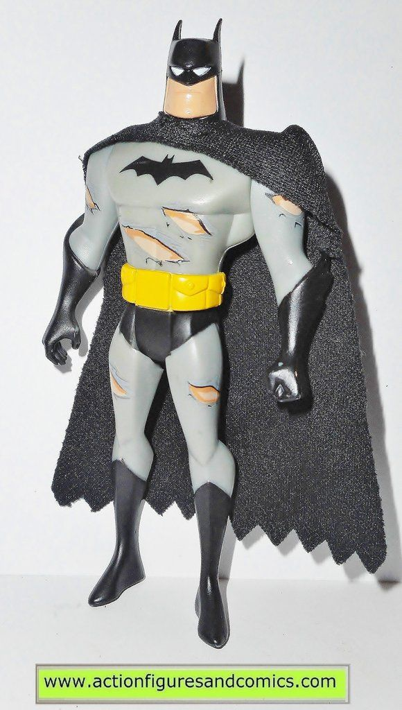 """Mattel toys action figures for sale to buy BATMAN: the animated series 2004 BATMAN / battle damaged torn suit Toys R Us exlusive """"Catwoman attacks"""" 100% COMPLETE condition: excellent - nice paint, nic"""