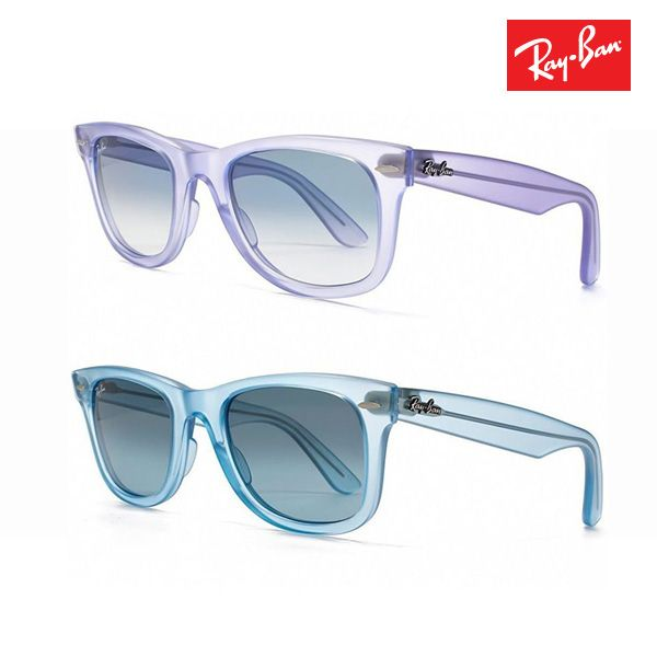 Ray Ban Ice Pop Wayferer Clear Matte Sunglasses | Buy Sunglasses