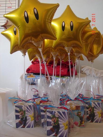 Porta Lápis com bola Metalica Mario Bros
