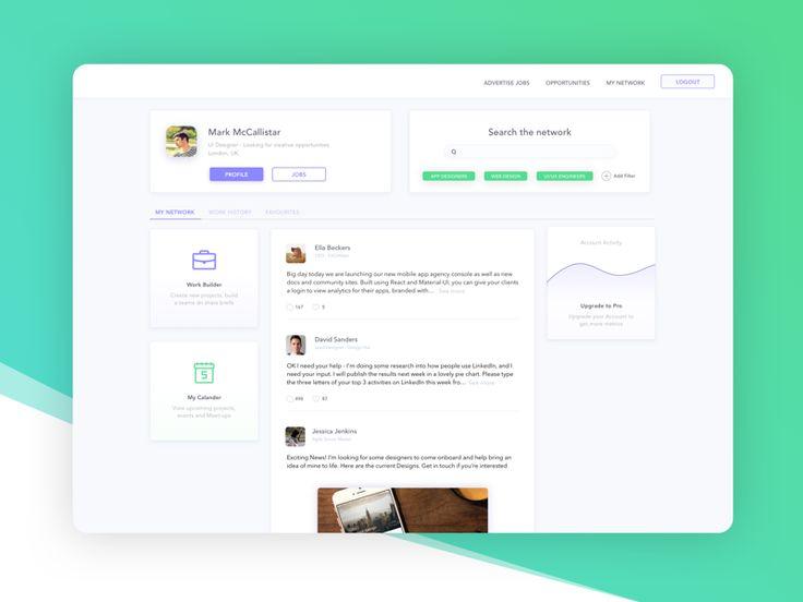 Networking Web Platform