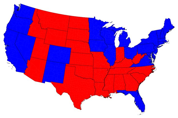Maps of the 2012 US presidential election results - good for generating observations and studying inference.