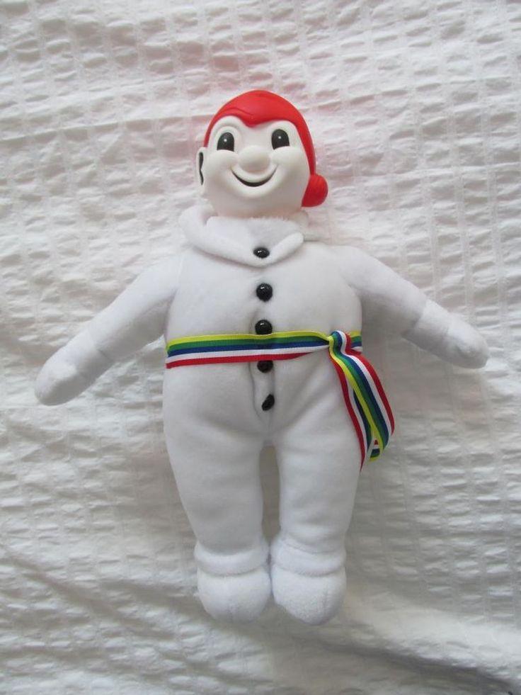 BONHOMME CARNAVAL CARNIVAL MASCOT Quebec winter Snow PLUSH doll