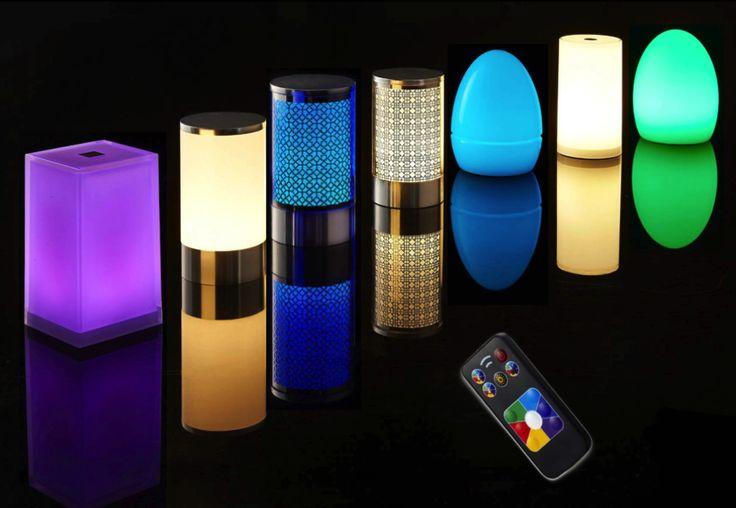 Lampe de table sans fil : GAMME LUXE Ces lampes LED sans fil haut de gamme sont en verre acrylique, étanches (IP44) et résistent aux chocs. Norme CE. Module LED : étanche et dévissable, présélection 6 couleurs + blanc chaud, mode changement de couleur automatique, mode personnalisation couleur. Diffuseur : verre acrylique (Classic, Iceberg/Arabic,Egg injected) polyéthylène (Egg), verre acrylique/base aluminium (Alu) interchangeable et résistant aux chocs.