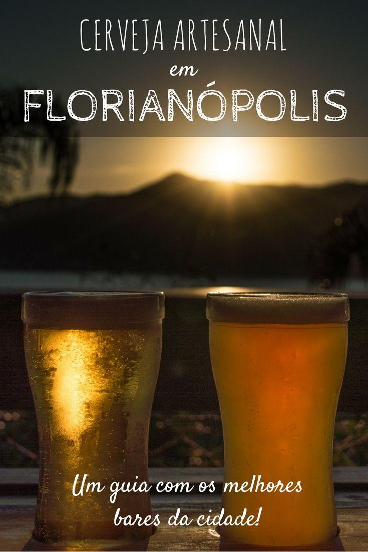 Confira esse guia da cerveja artesanal e saiba onde beber em Florianópolis! Conheça os melhores bares da capital de Santa Catarina! #florianópolis #santacatarina #viagem #cervejaartesanal