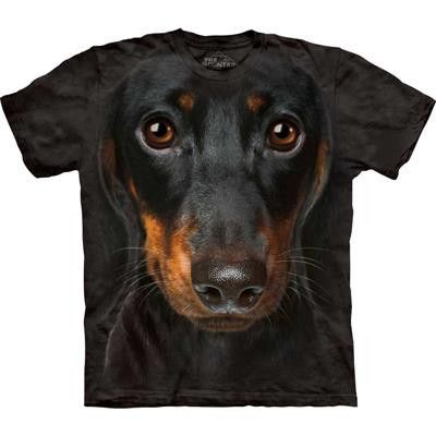 Dachshund Big Face Mountain T Shirt - yourgifthouse