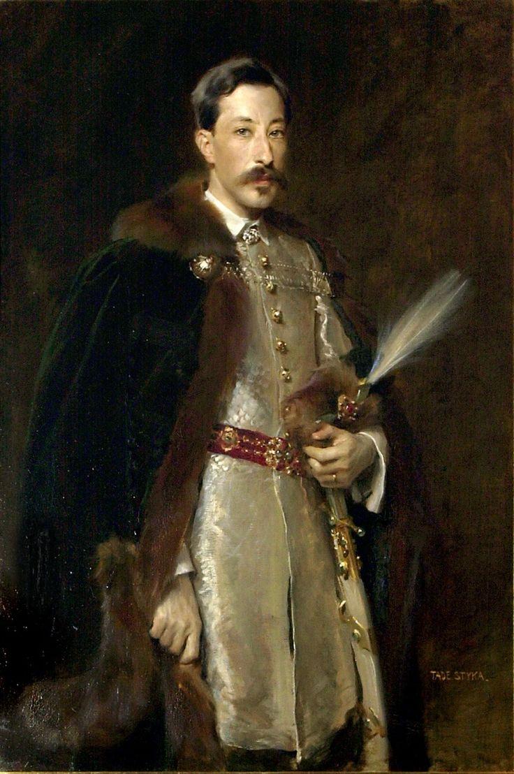 Tade Styka, Portret Adama Ludwika Czartoryskiego