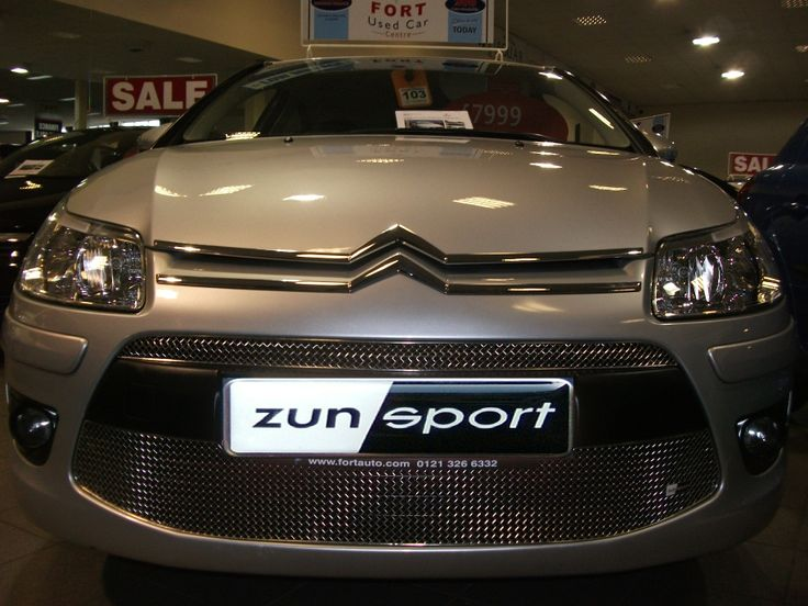 #Citroen #C4 #VTR #Zunsport #Grille fitted to your Citroen C4 Coupe VTR will bring not only an enhanced appearance but also protection http://www.zunsport.com/en/citroen-c4-coupe-vtr--front-grille-set-p381