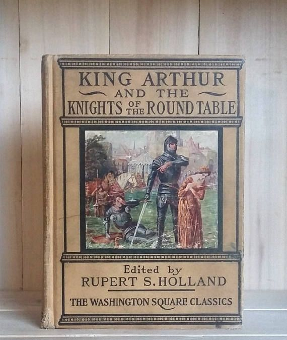 King Arthur and the Knights of the Round Table 1919 Antique