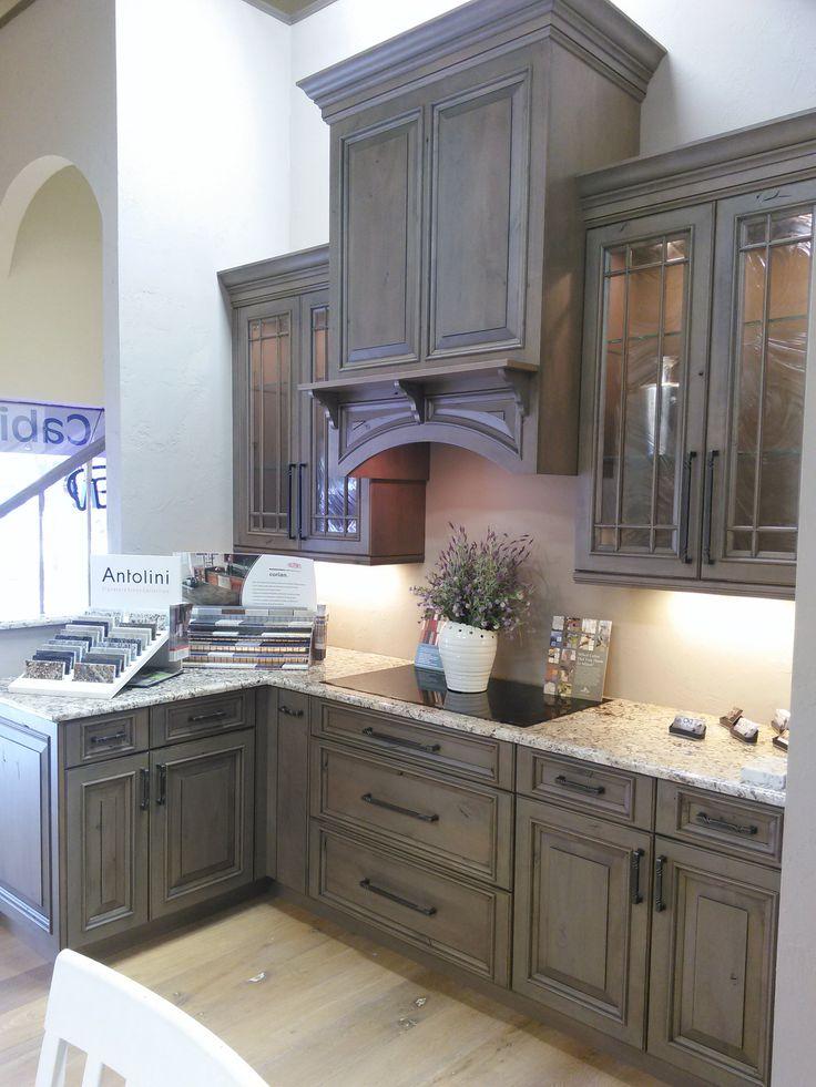 Ultracraft Cabinets Coastal Grey Coastal Kitchen