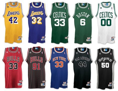 New adidas Hardwood Classic Jerseys Available - WearTesters ...