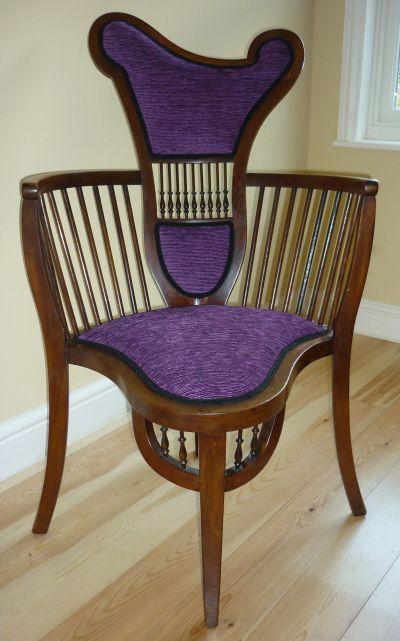 Image Detail for - Art Nouveau Chair