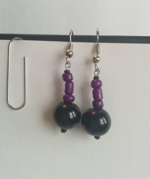 Purple Shirt of Sexiness - Sherlock inspired earrings, $10