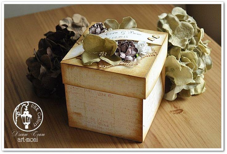 art-moni: Ślubny Box