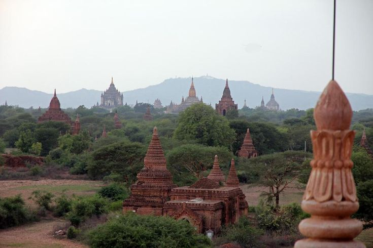 With over 200 temples dotted around the landscape, Bagan is quite the sight
