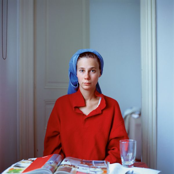 Peter Puklus Melinda after hairwashing (up), 2005, Paris