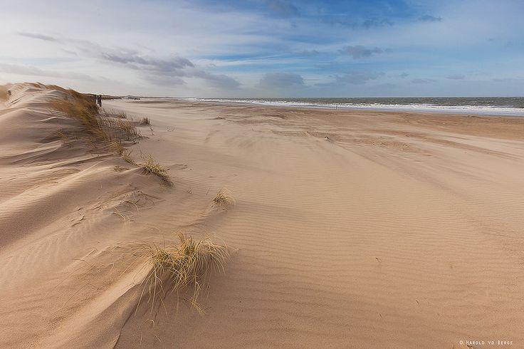 Strand Breskens op een paar minuten afstand van onze heerlijke strandlodge!