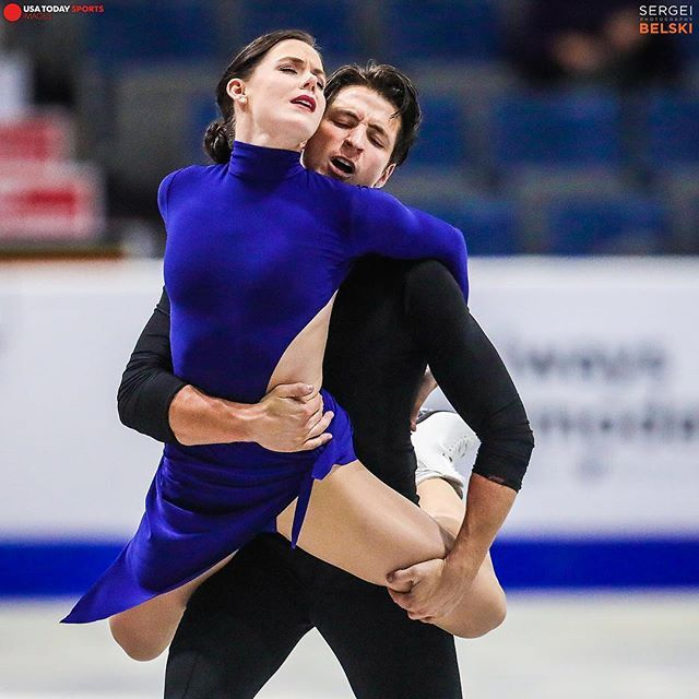 Tessa Virtue and Scott Moir. You can't watch these two without feeling something of a voyeur. They dance like twin flames in a wind.