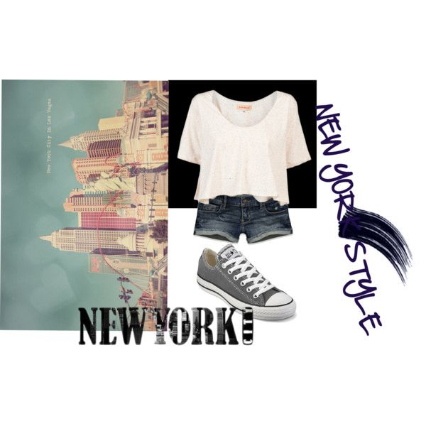 """New york style(:"" by isi-belieber3 on Polyvore"