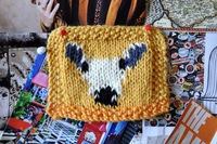 How to turn a Photo into an Intarsia Chart for Knit/Crochet patterns using image editing software.