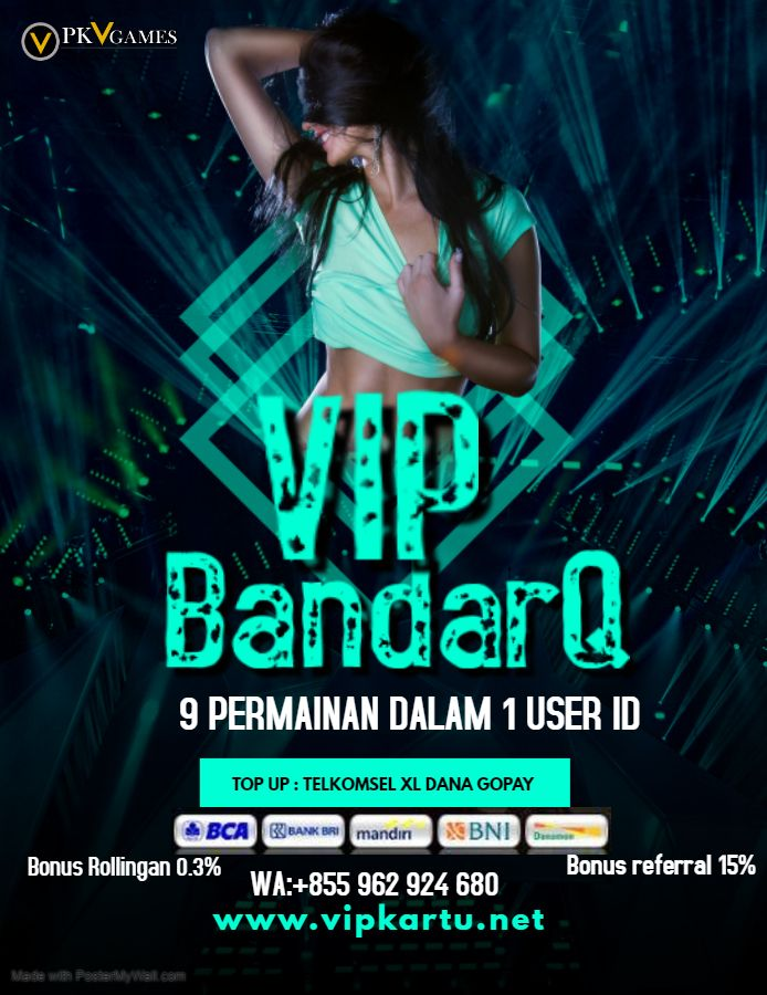 VIPBandarQ di 2020 | Poker, Asli