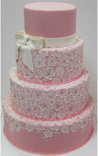 I LOVE this embroidery technique. What a gorgeous cake. Simple yet not.