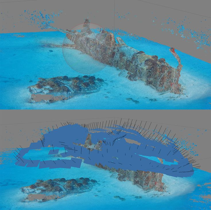 Photogrammetry: Documenting WW2 Wrecks in 3D