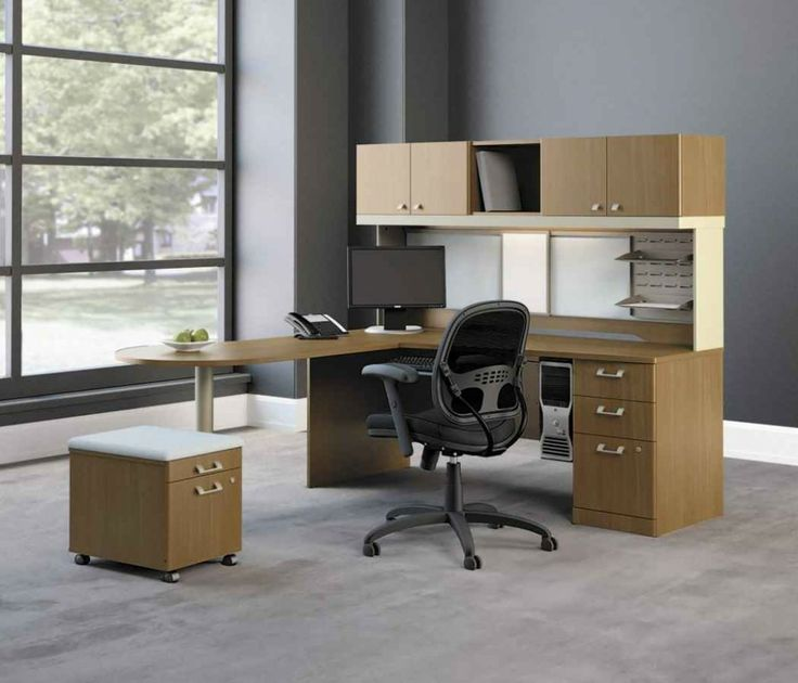 Office Workspace Stylish Ikea Chair With Square Multifunction Puff And Chest Of Drawers