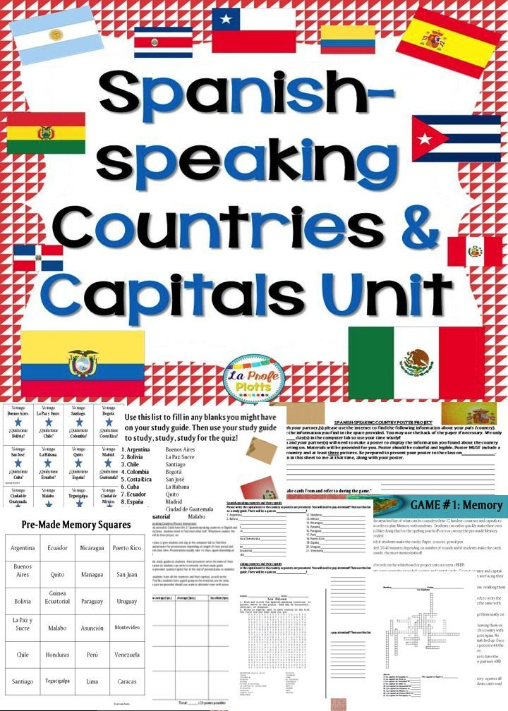 11 Best Spanish Speaking Countries Images On Pinterest
