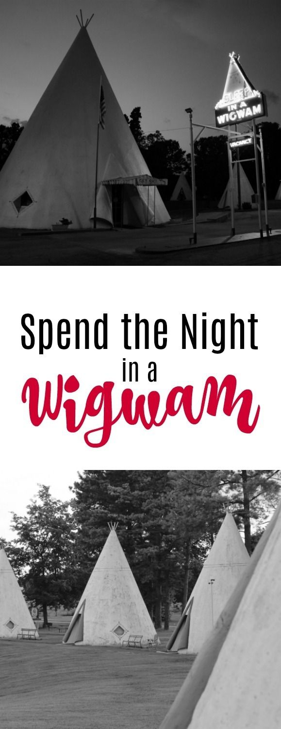 Spend the Night in a Wigwam the ultimate retro experience.