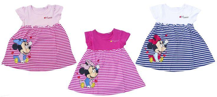 Din garderoba fetitei tale nu trebuie sa lipseasca rochitele cu dungi si cu Baby Minnie! Sunt adorabile! Rochite fetite 6-24 luni Pret: 45.00 lei http://hainute-fetite.ro/produs/rochie-vara-bebe-minnie/