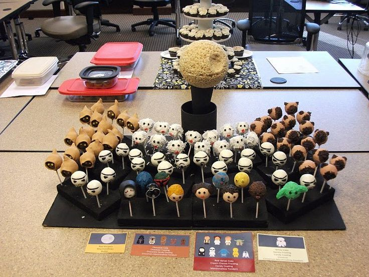 star wars cakes | Epic Star Wars Cake Pop Display | JPEGY - What the Internet was meant ...
