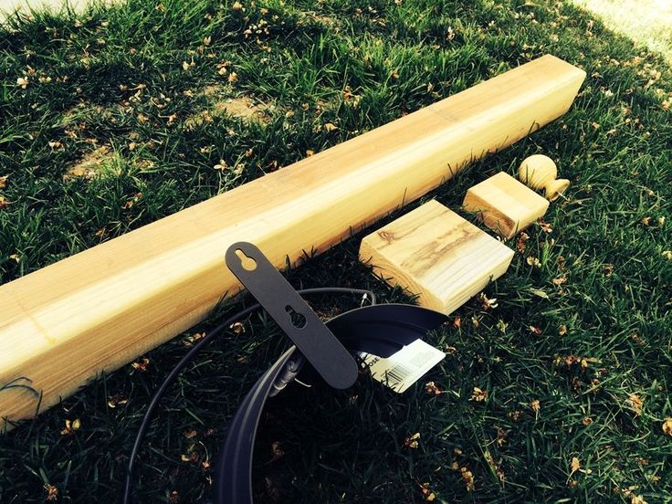 How To Build A Garden Hose Hanger (Beginner DIY)