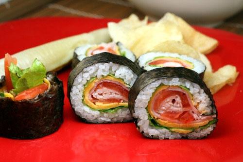 'Club' Sushi (no fish)