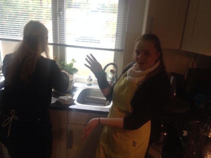 verse Noorse koeken maken