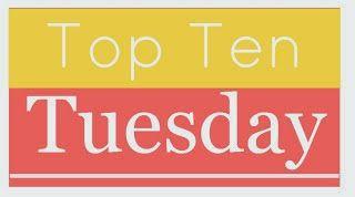 Boklysten: Top Ten Tuesday - 10 i topp på vårens läsalista.
