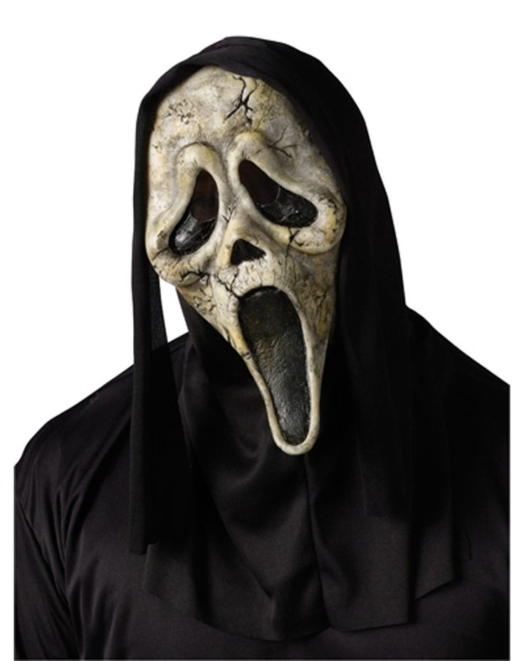 This Scream Ghost Face Zombie Mask is the perfect accessory to complete your Scream costume