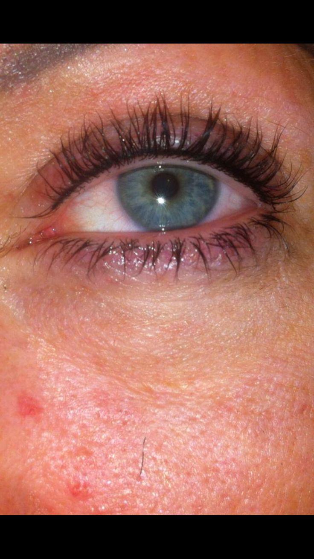 Spm top eyeliner & lvl eyelash lift