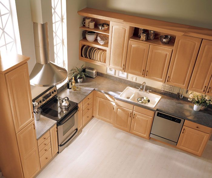 Maple Kitchen Countertops: 25+ Best Ideas About Maple Kitchen Cabinets On Pinterest