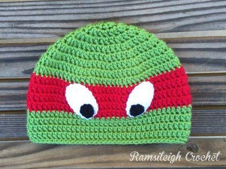 Ninja Turtle Hat {FREE PATTERN}
