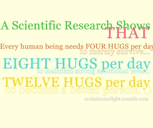 Hugs! I agree with this 100 Hug quotes, Image quotes