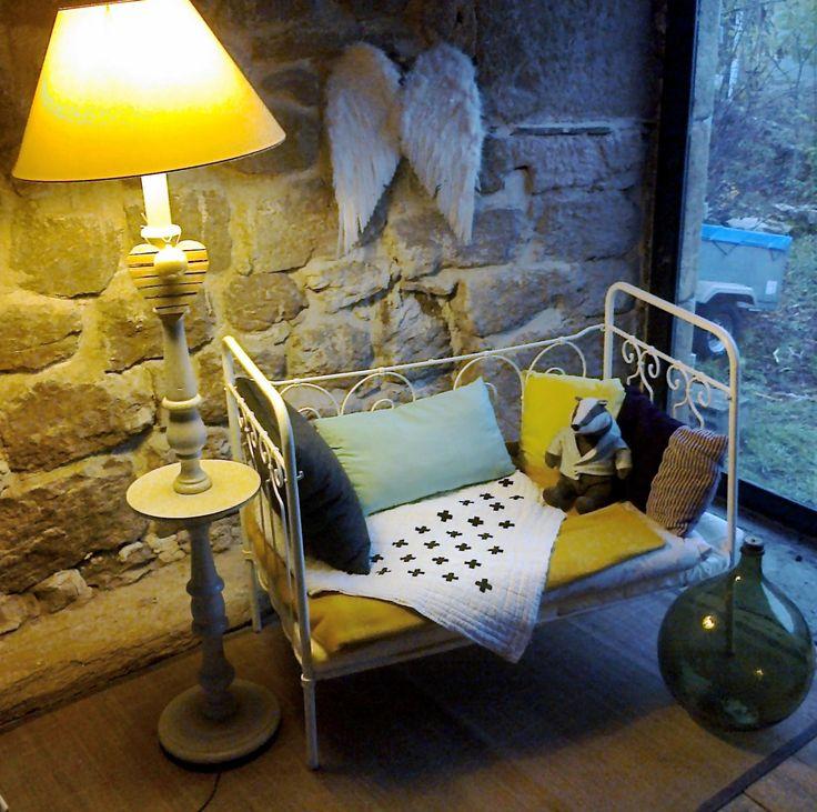les 25 meilleures id es concernant lit fer forg sur pinterest lit metal lit en fer et lits. Black Bedroom Furniture Sets. Home Design Ideas