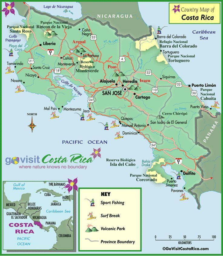 All the maps of Costa Rica.  SOA Edu-cations: Ed-ventures in Costa Rica www.seasonsofadventure.com