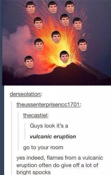 Wow.-- you realize the word for volcano comes from the word Vulcan (roman god of fire, rhe forge etc), right?