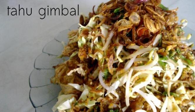 Tahu Gimbal: Semarang Culinary.