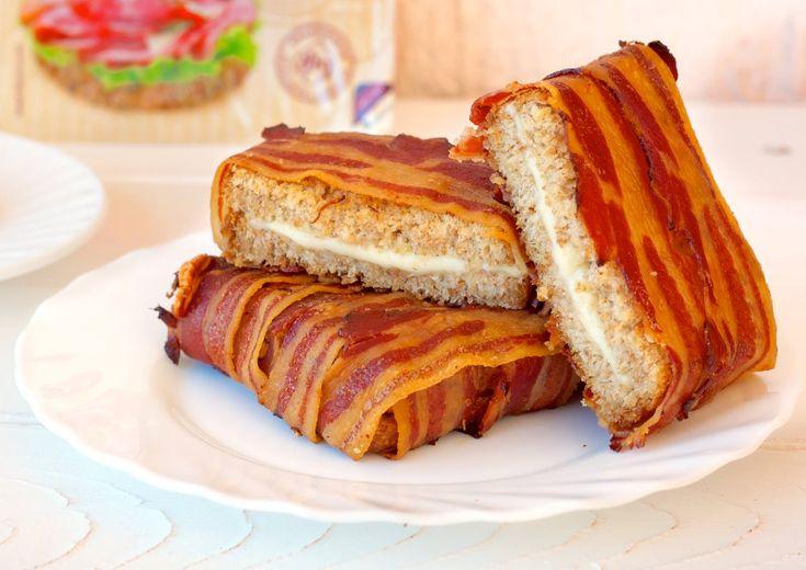 Бутерброд в беконе — Кулинарный Рай