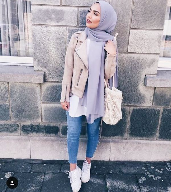 20 Attractive Hijab Winter Outfits