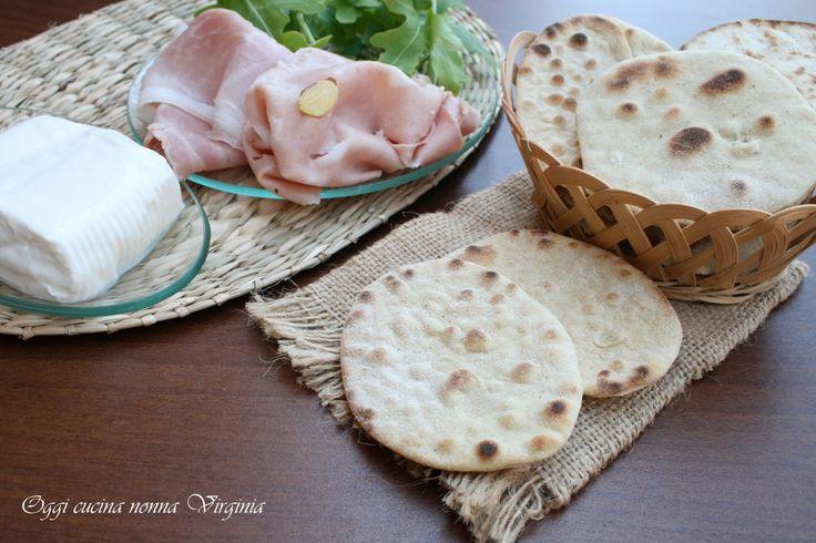 Pane naan senza lievito